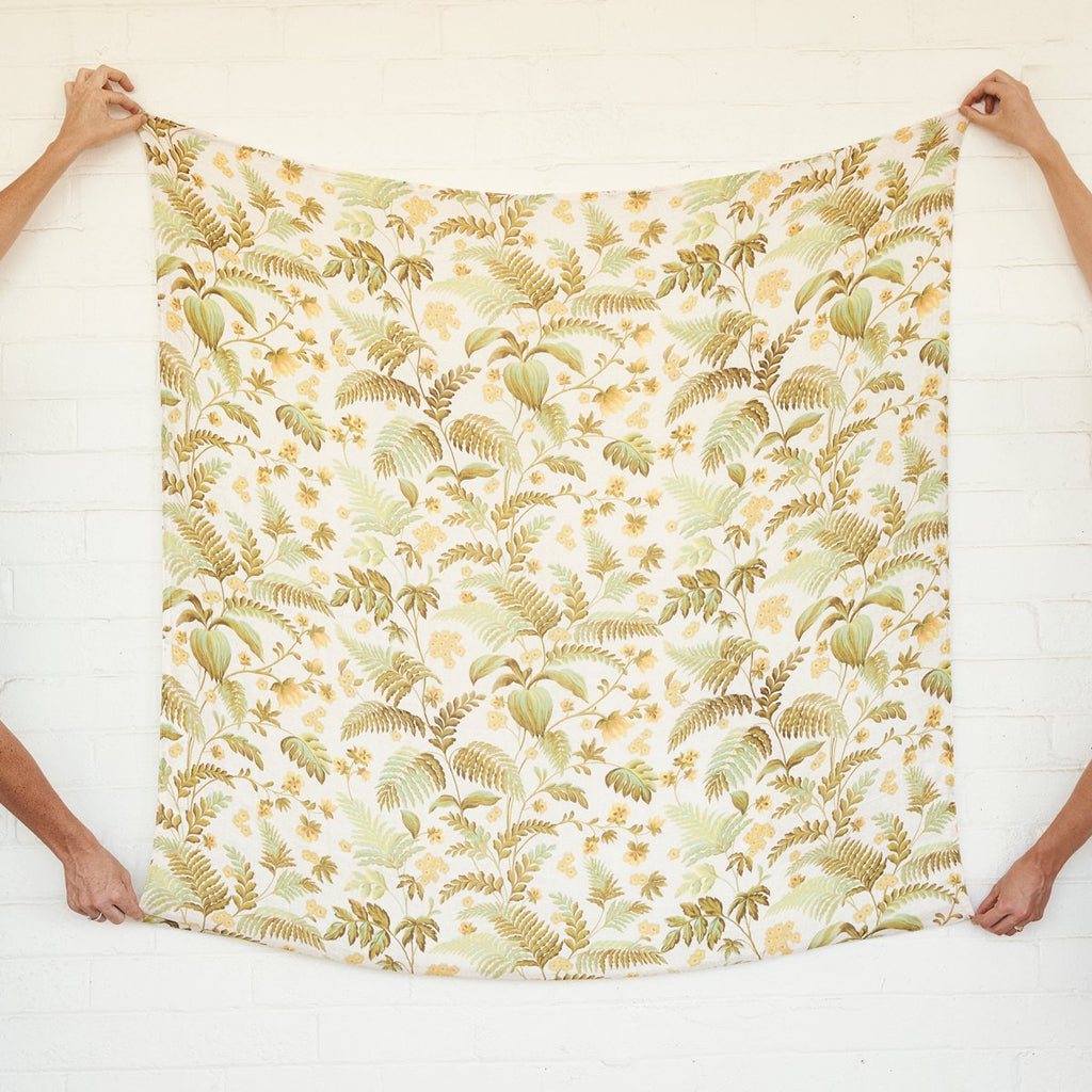 Rainforest Bamboo / Organic Cotton Swaddle