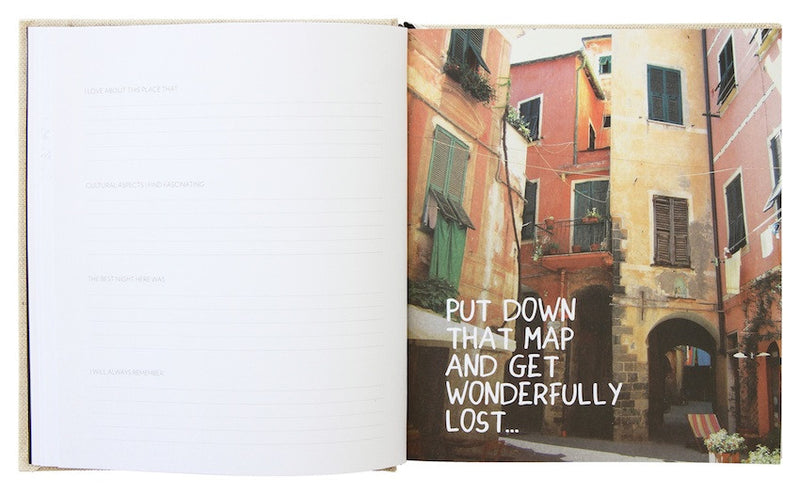 Travel Journal - Swept away by WANDERLUST
