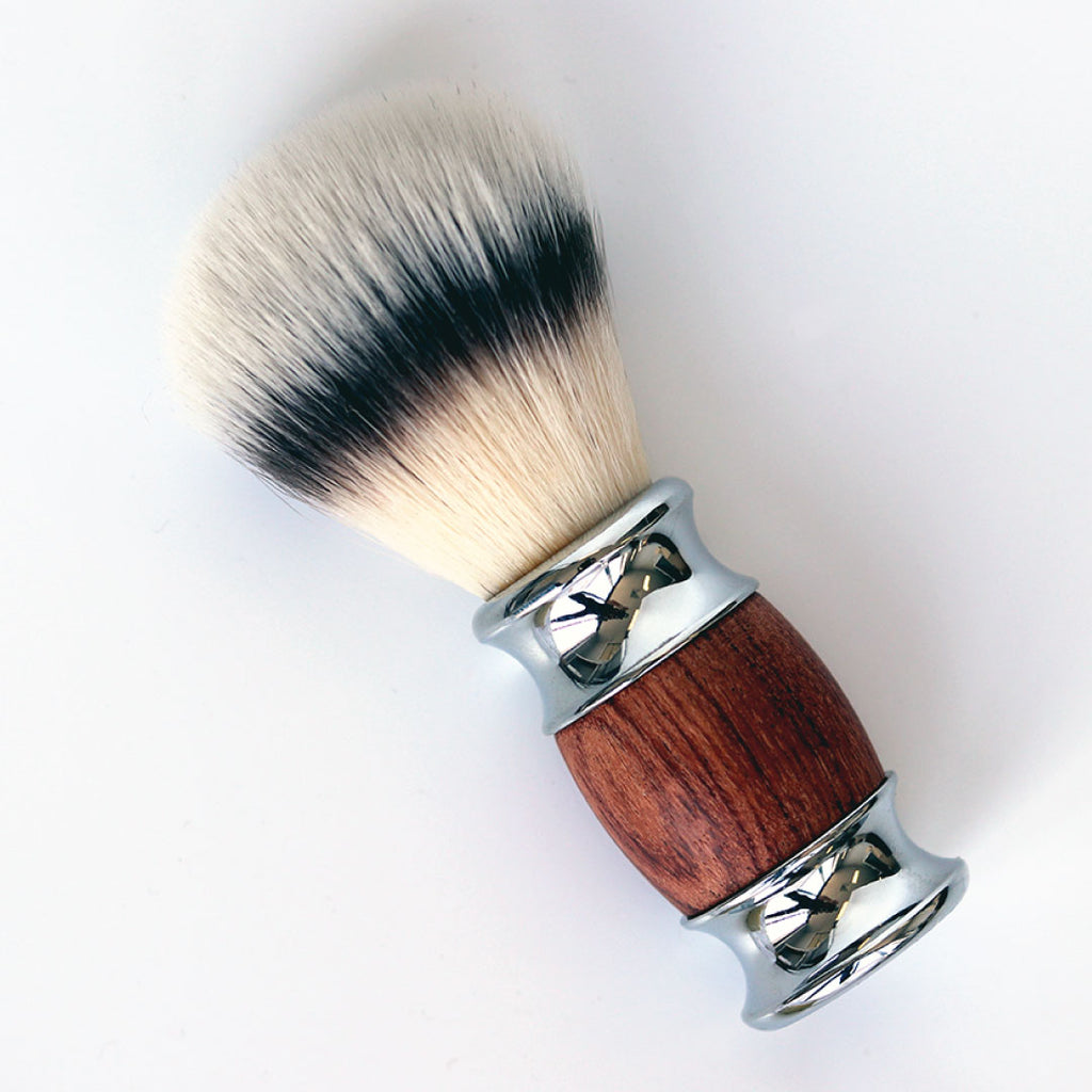Wooden Shave Brush (Vegan)