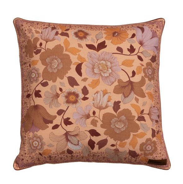 Grande Fleur Nightshade Cushion Cover - Large