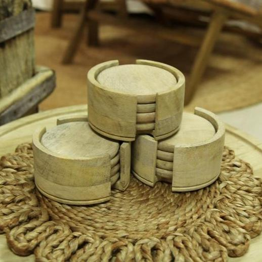 Wooden Coaster - Set of 4