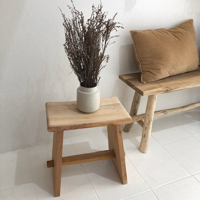 Wooden Morrocan Chair Black