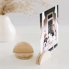 Small Arch Timber Photo Stand
