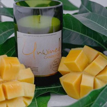 Unwined Candle Co - The Bowen Mango