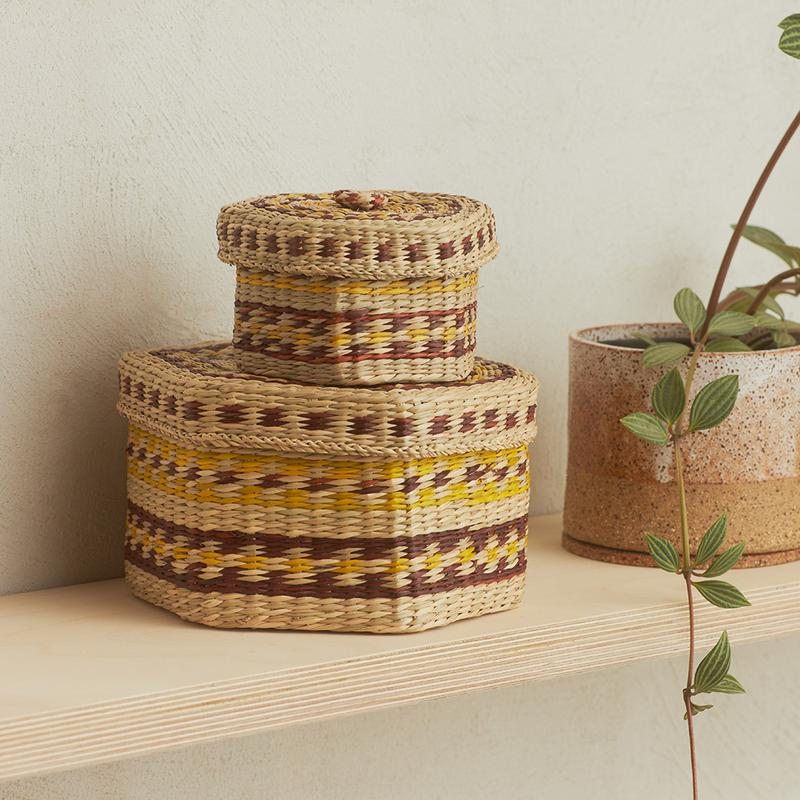 Moroccan Basket (Light Natural)