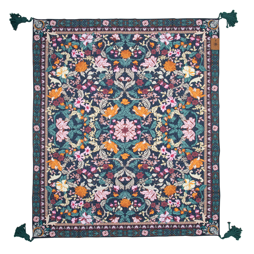 Emerald Forest Picnic Rug