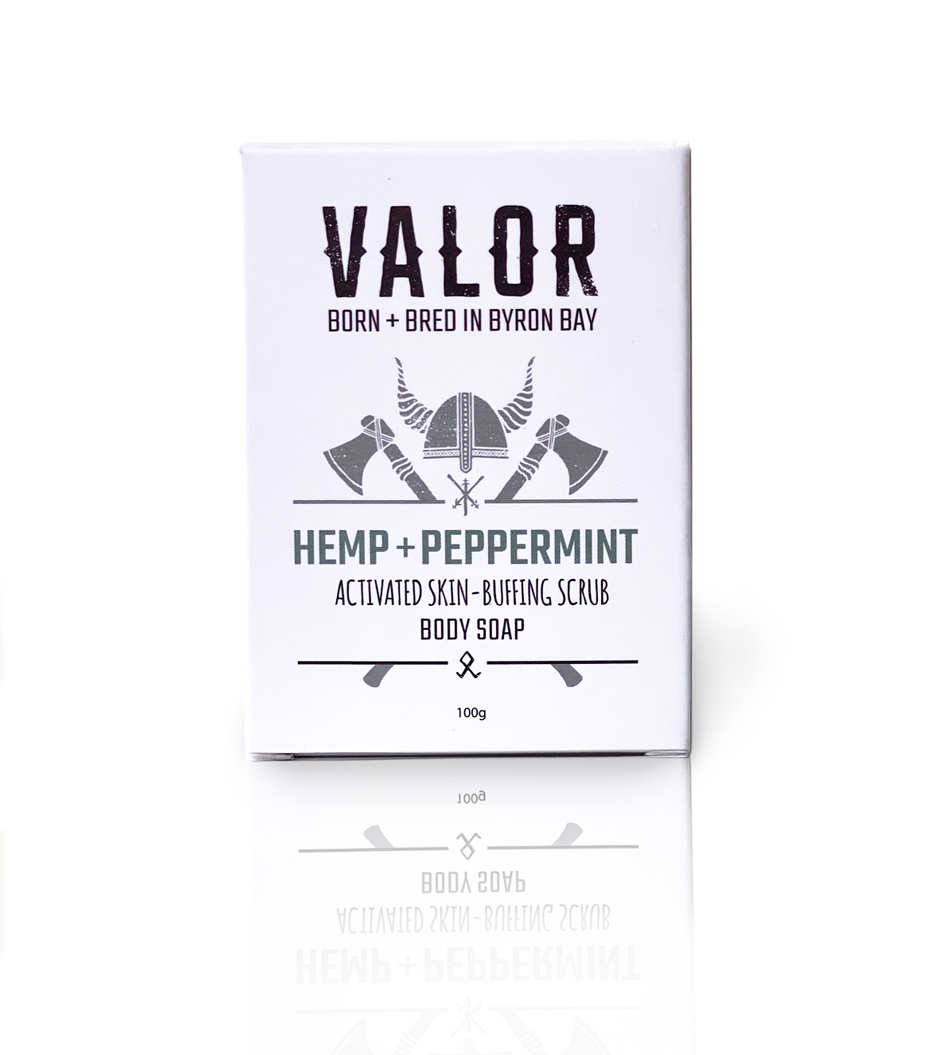 Peppermint & Activated Hemp Workers Soap