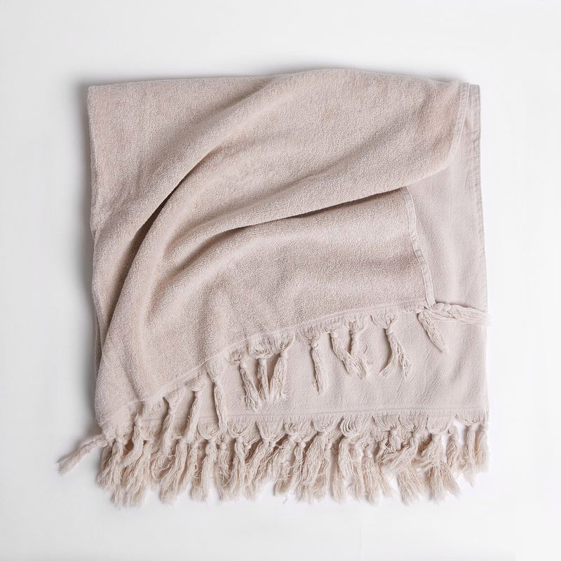 Vintage Wash Clay Towel Range