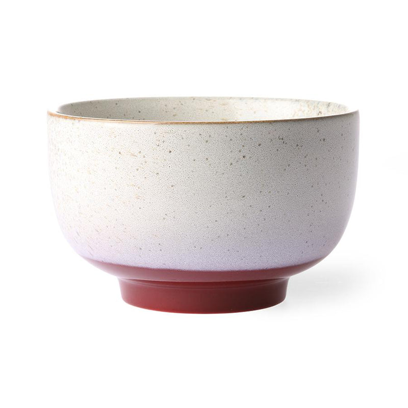 Ceramic 70's Bowl Large - Frost