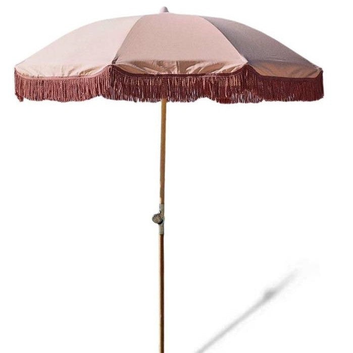 Blossum Wood Pole Beach Umbrella
