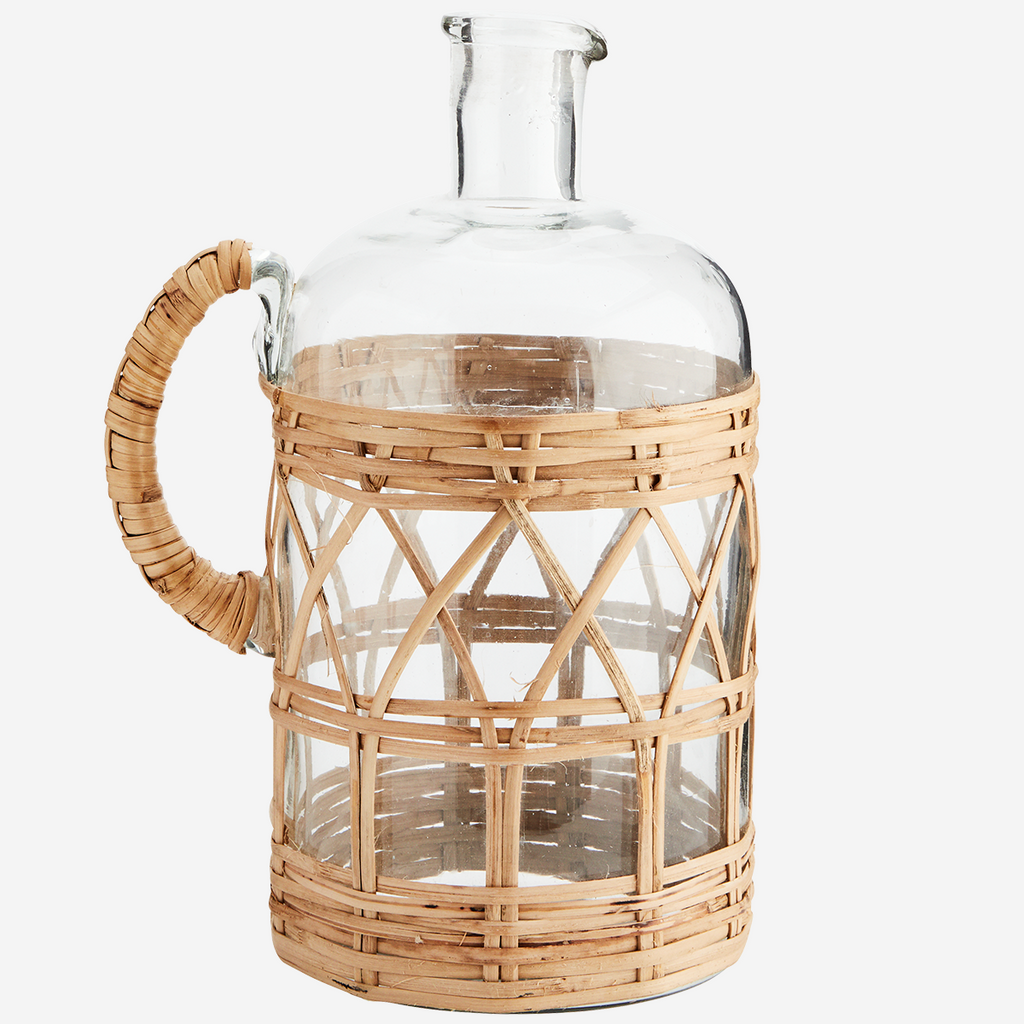 Glass Bamboo Jug