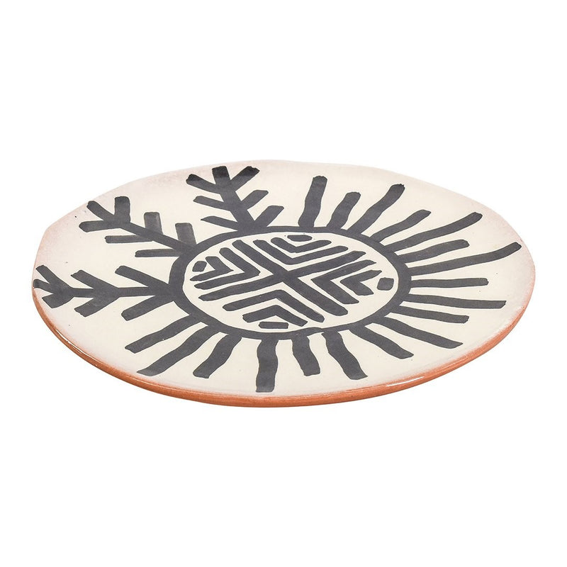 Pottery - Luna Collection - Plate Onyx