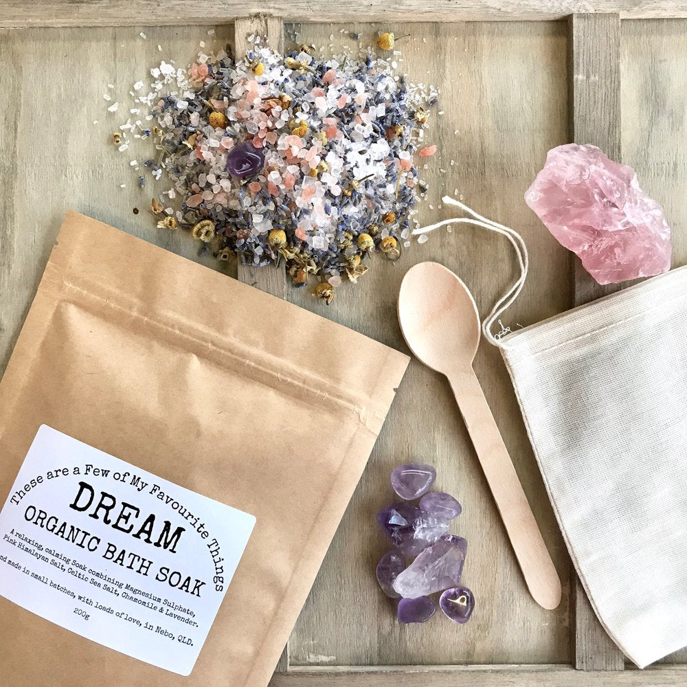 Amethyst Infused Dream Bath Soak