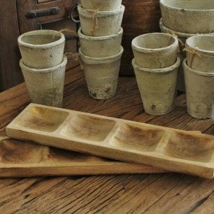 Wooden Rectangle Spice Tray
