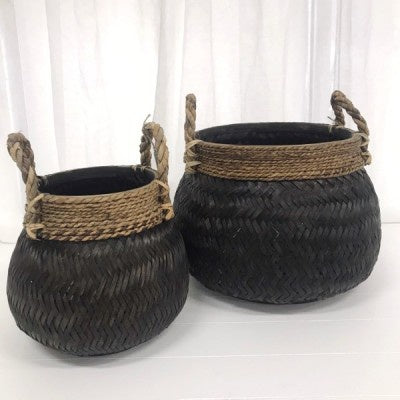 Marc Harvest Baskets - Black