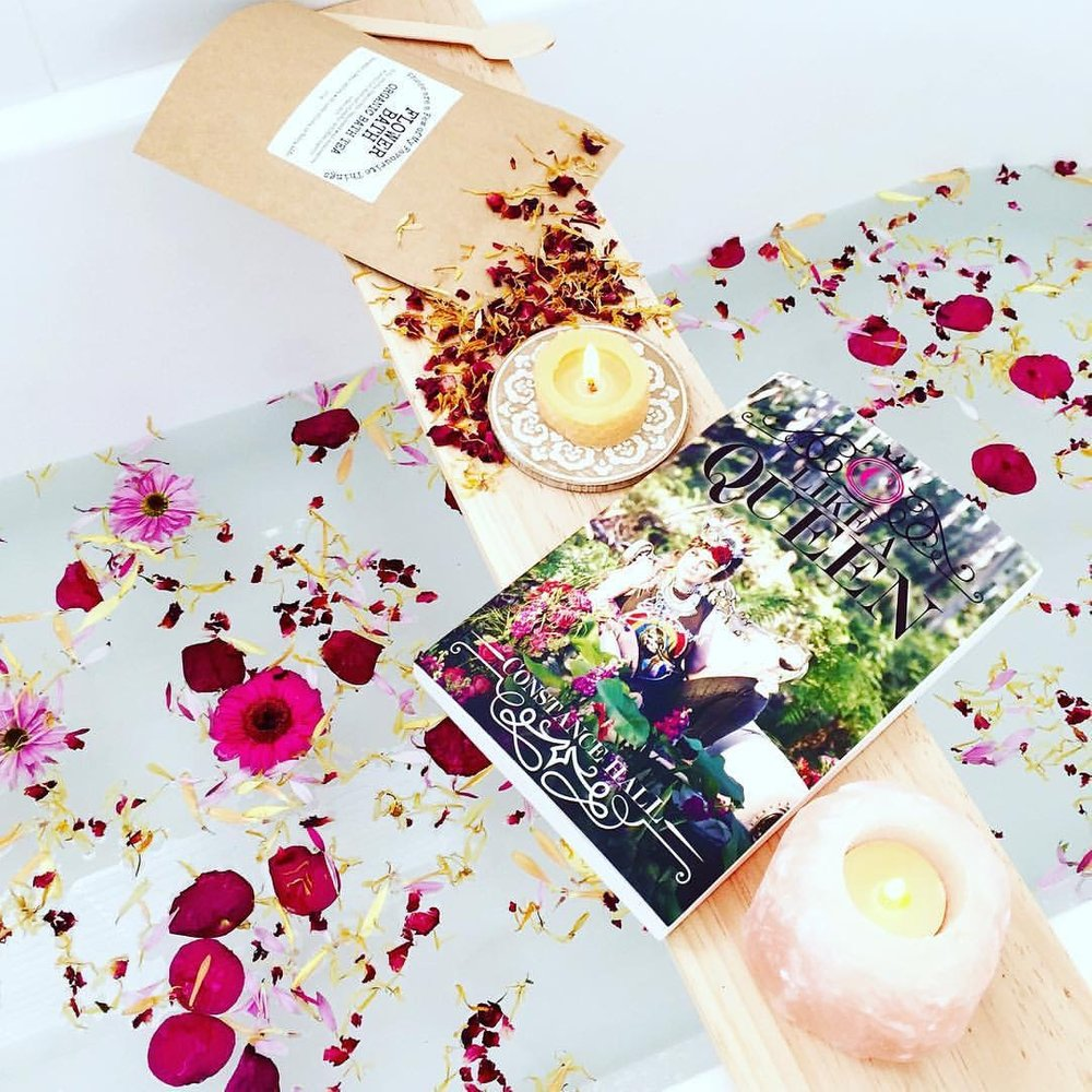 Flower Bath Organic Bath Tea