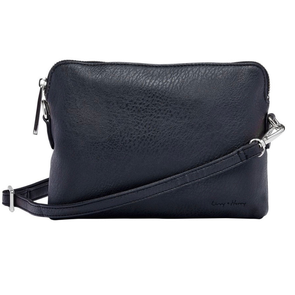 Nappy Clutch in Black
