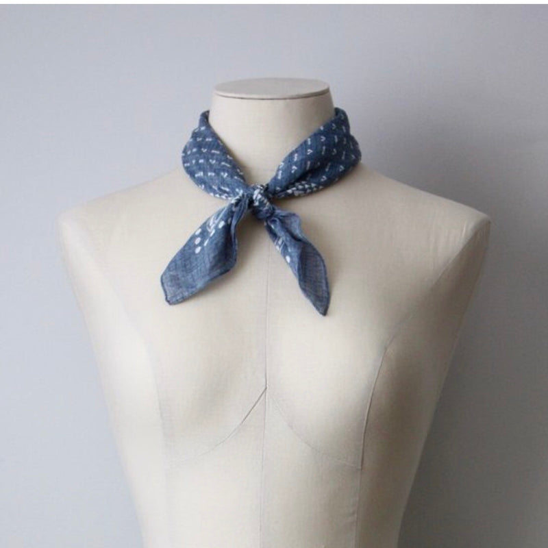 Neck Scarf - Denim
