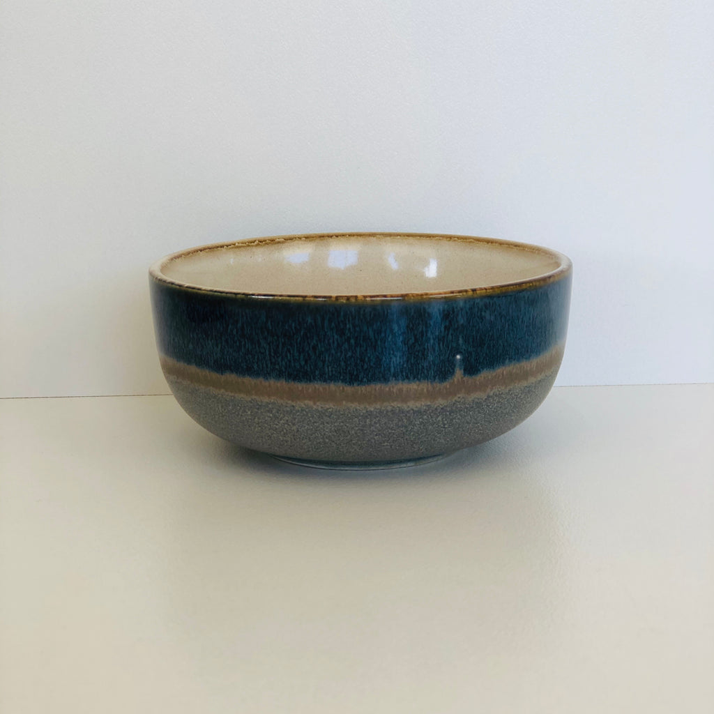 Ceramic 70's Bowl Medium - Ocean