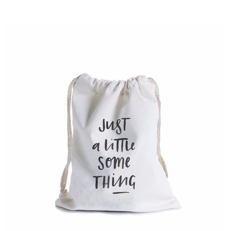 Little Something Canvas Gift Bag