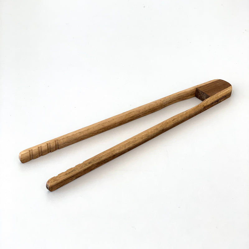 Acacia Wood Tongs