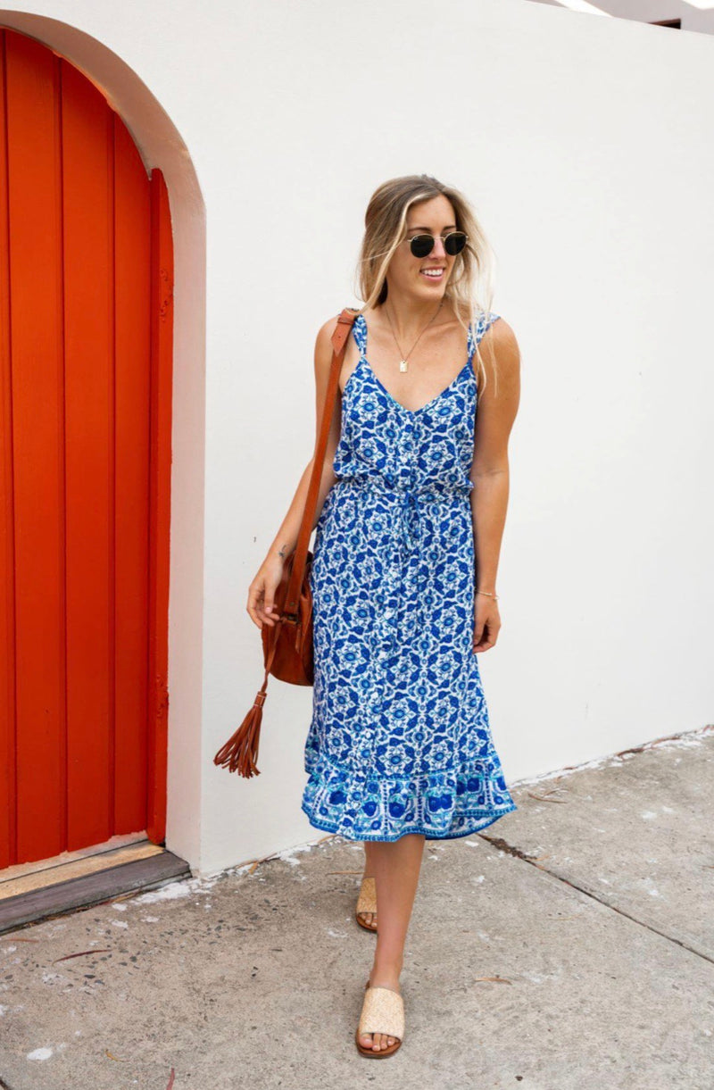 Indian Summer Midi Dress