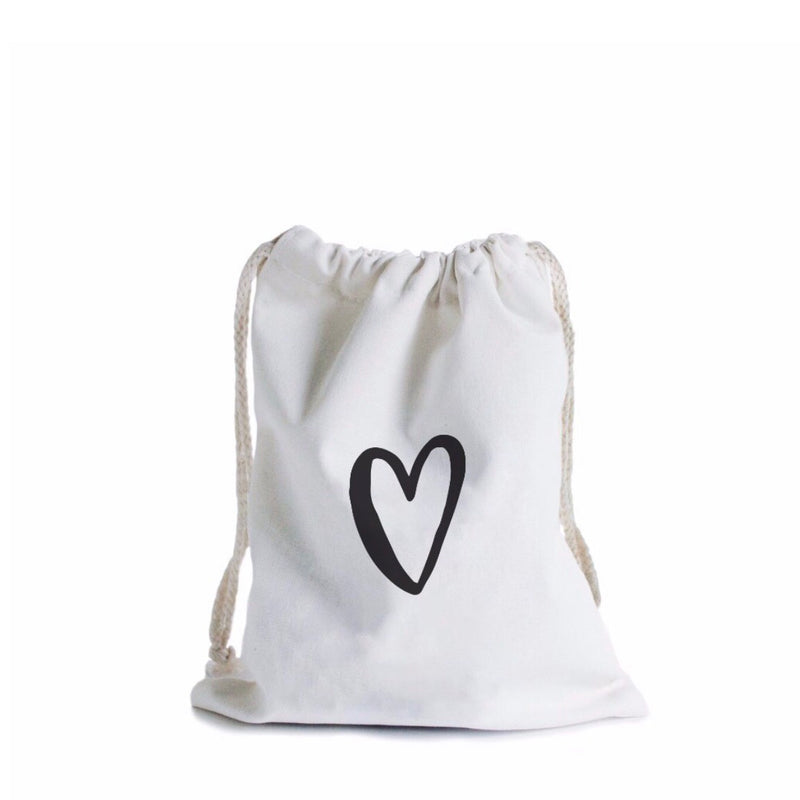 With Love Canvas Gift Bag