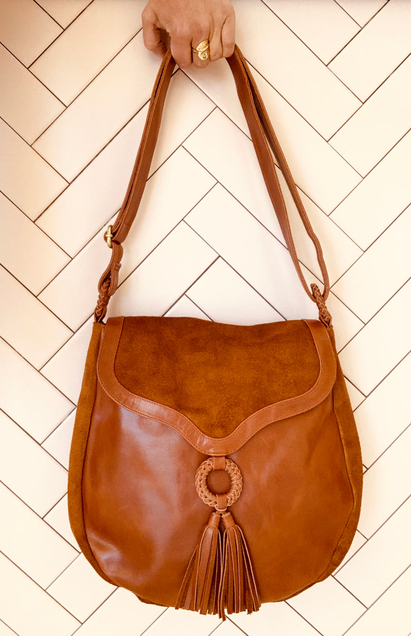 Arabella Hobo Bag Walnut
