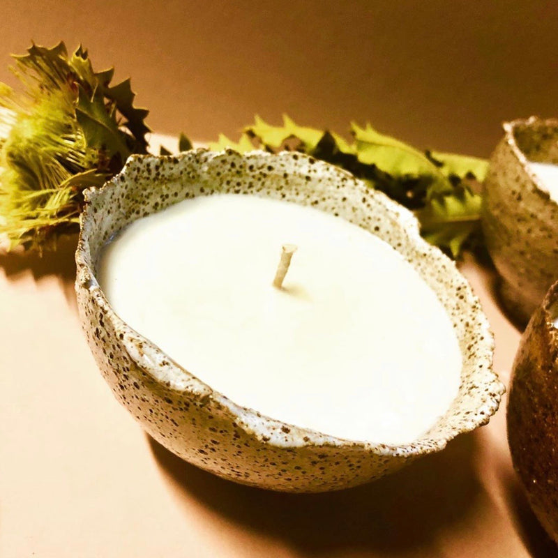 Earth Bowl Candles