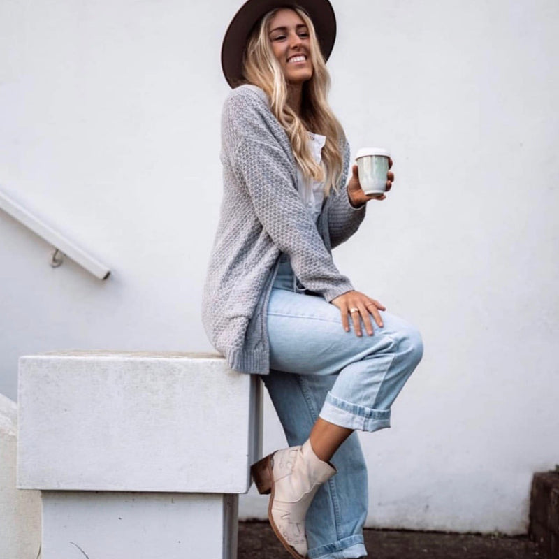 Arizona Cardigan - Grey