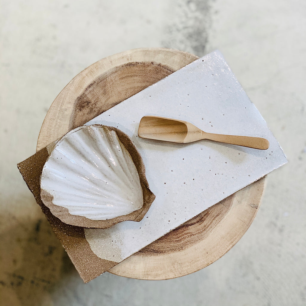 Grit Shell Dish