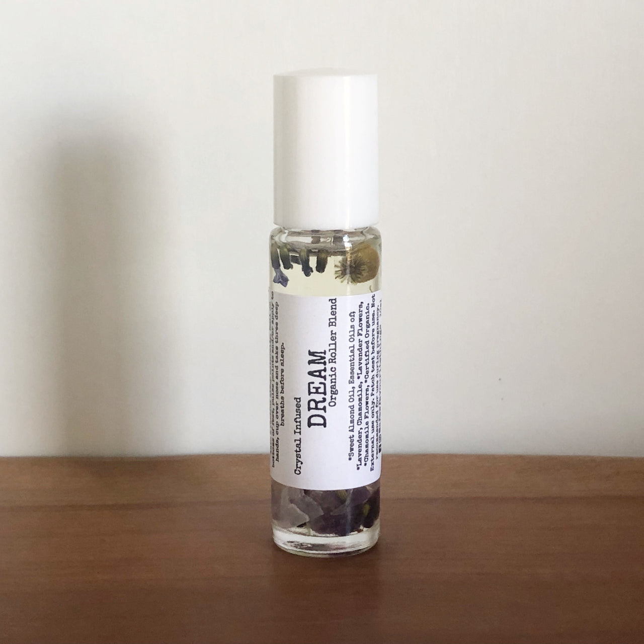 Crystal Infused Essential Oil Roller Blend - Dream