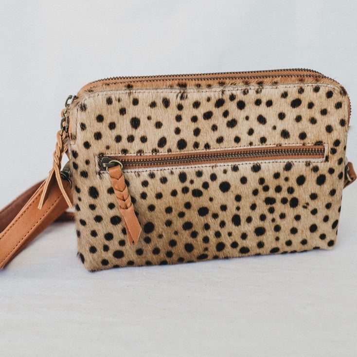Gemini Staple Bag - Leopard