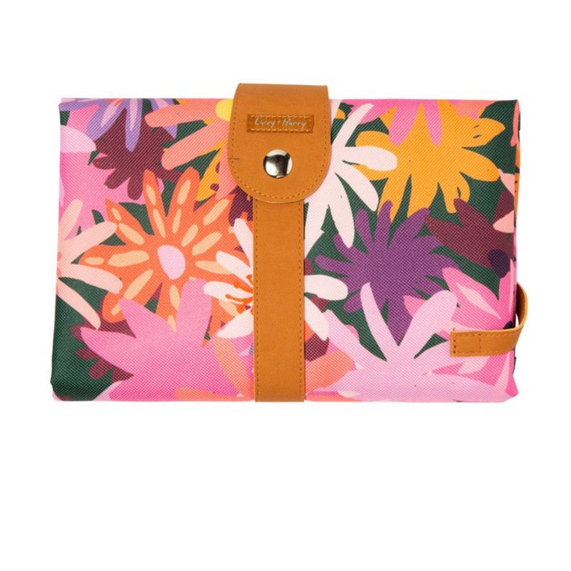 Travel Baby Change Mat - Pop Floral