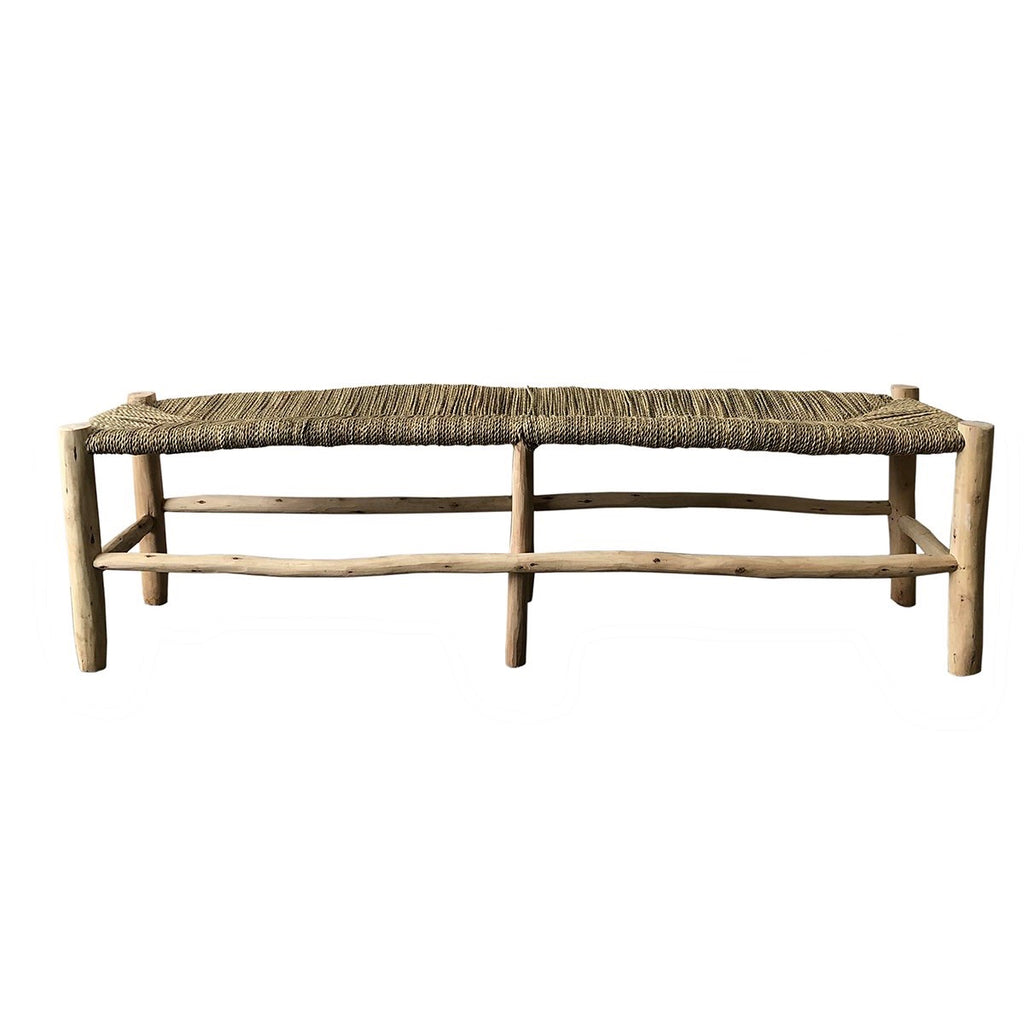 Moroccan Palm Bench