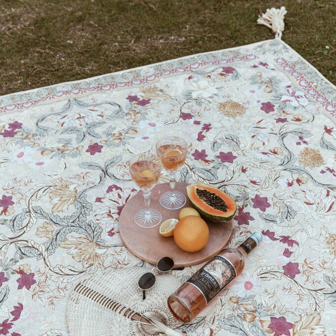 Pastel Forest Picnic Rug