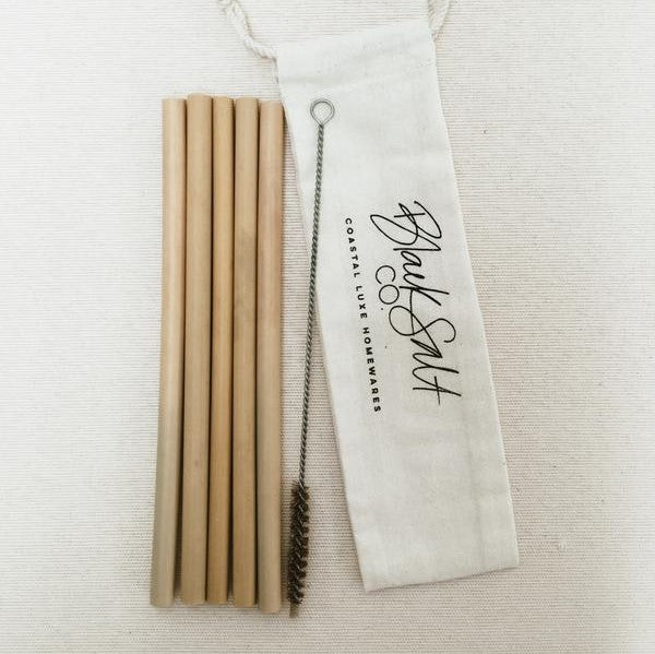 Bamboo Straw Pack