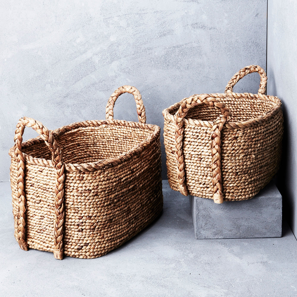 Waterhyacinth Oval Basket