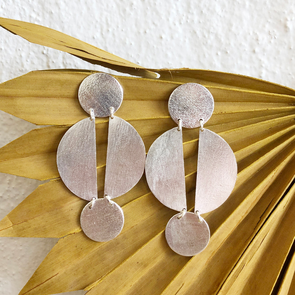 Jael Earrings - Silver