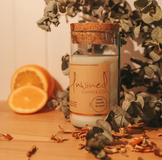 Unwined Candle Co. Sweet Orange Blossom