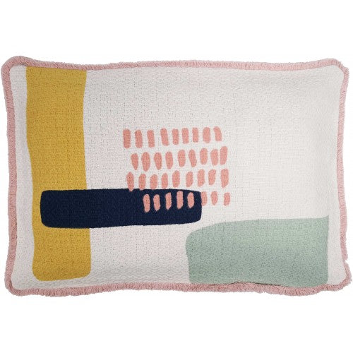 Sadie Pillow Pink & Blue 30x45cm
