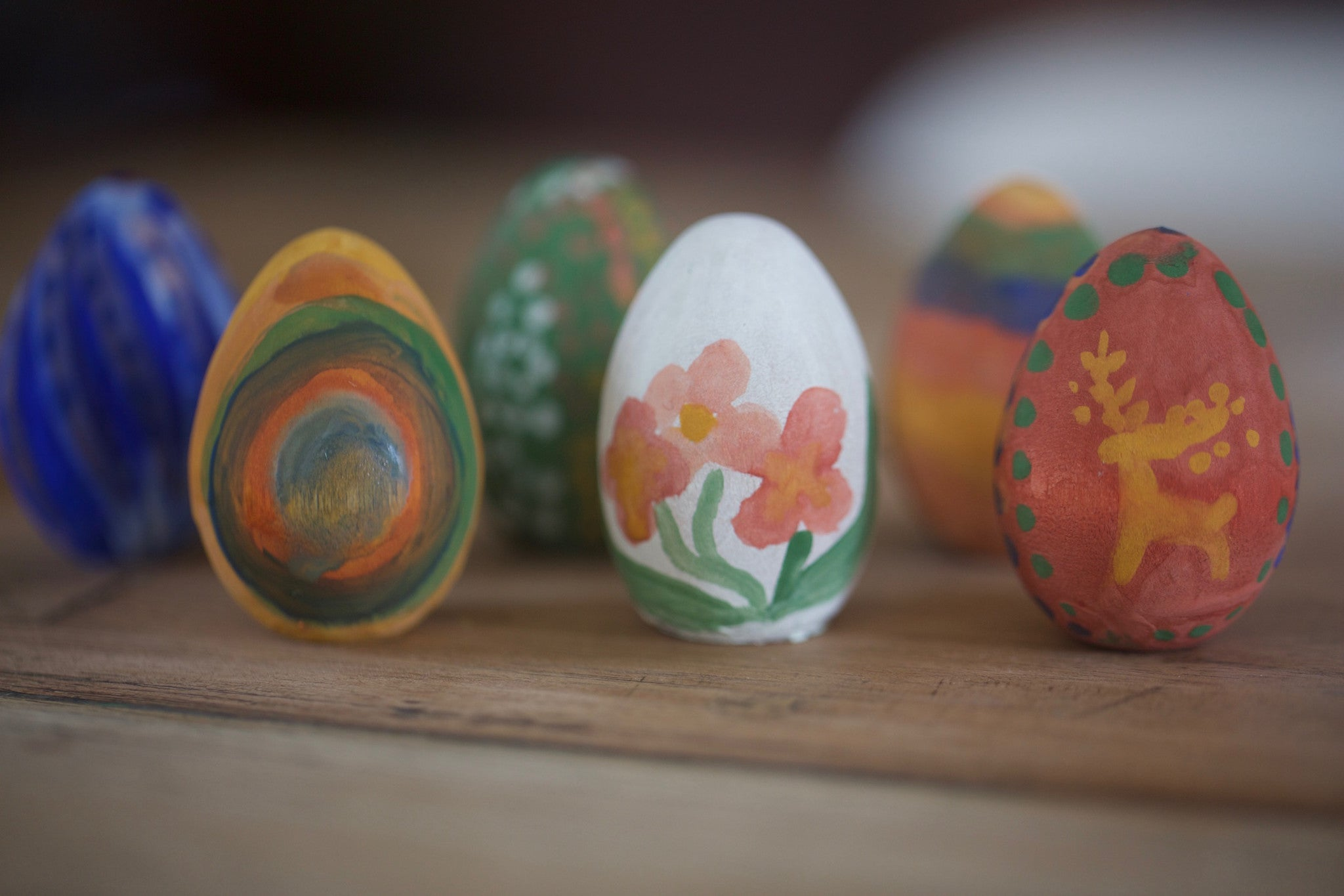 Craft Ideas For Kids Wooden Easter Egg Painting Kit Natural Earth Conscious Craft