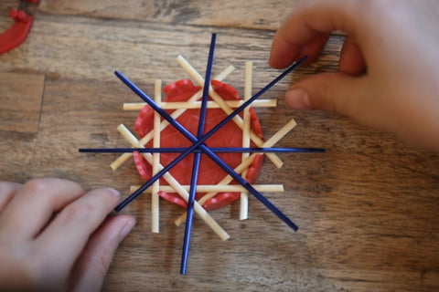 Straw Stars placing
