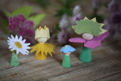 Craft Ideas For Kids Flower Peg Doll Conscious Craft