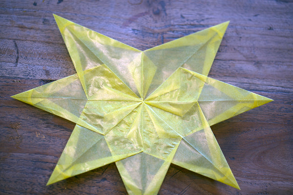 7 points of paper star complete