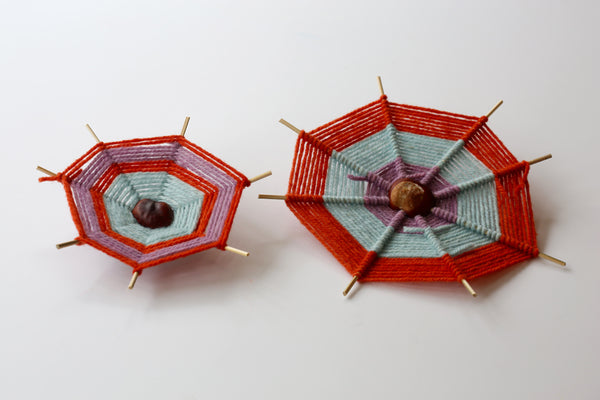 Conker Spider Weaving