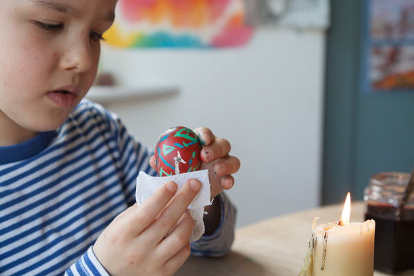 Craft Idea For Kids | Pysanky Egg Decorating