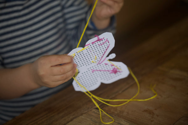 Craft Ideas For Kids | Easter Inspired Embroidery Boards