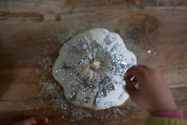 Halloween Craft Ideas For Kids | Sparkling Pumpkin | Conscious Craft