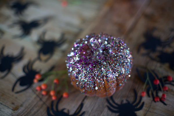 Halloween Craft ideas For Kids | Glitter Pumpkins | Conscious Craft
